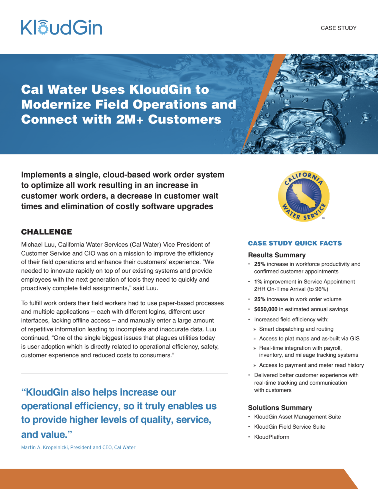 Cal Water Case Study Img